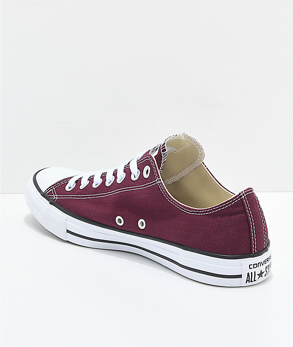 4ecb50e5285c Converse Womens All Star Low Top Lace Up Fashion Sneakers