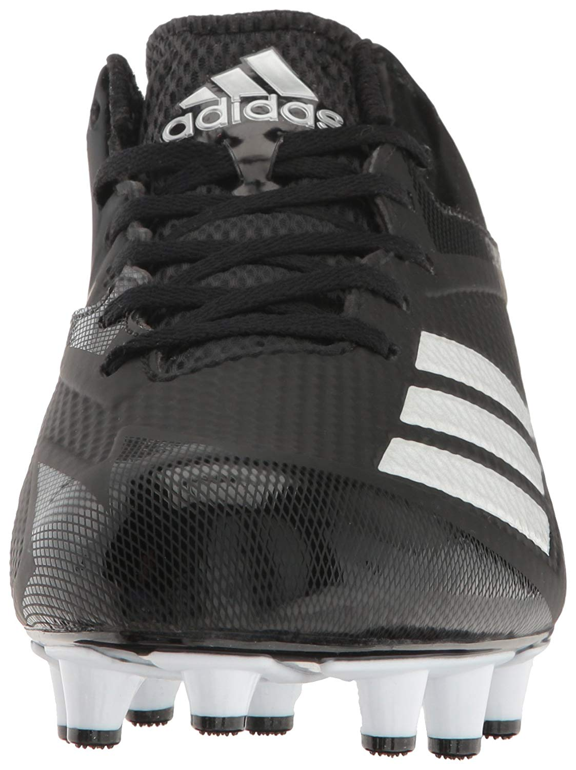 01c775ffd6b5 adidas Men's Freak X Carbon Mid Football, Black/White/Metallic ...