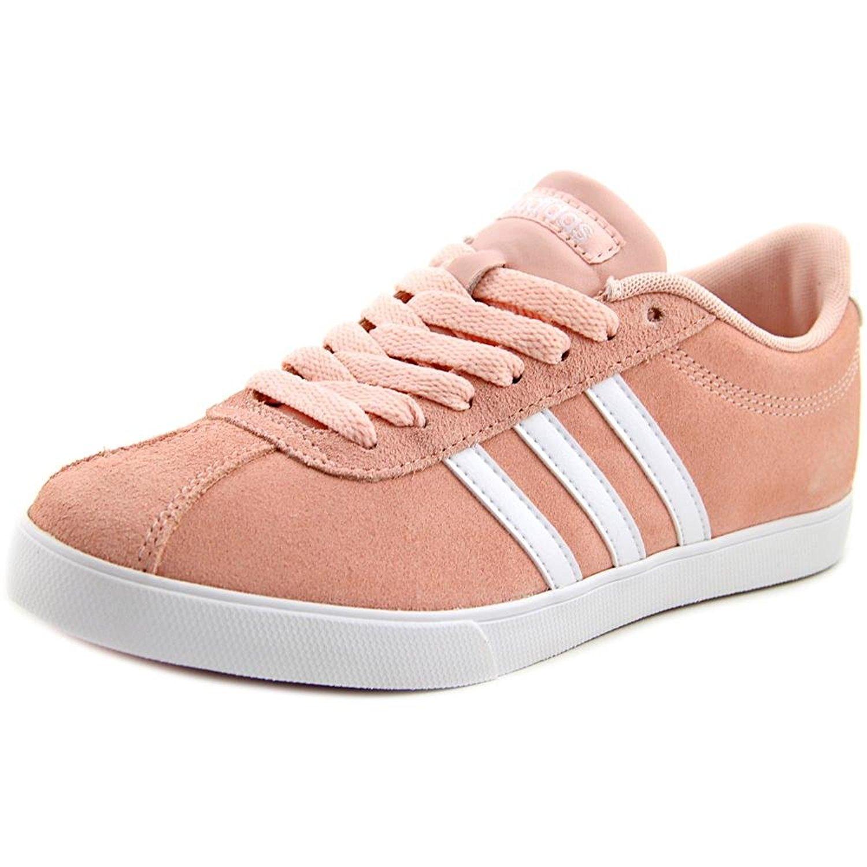 adidas donne courtset basso alto merletto moda scarpe rosa, dimensioni