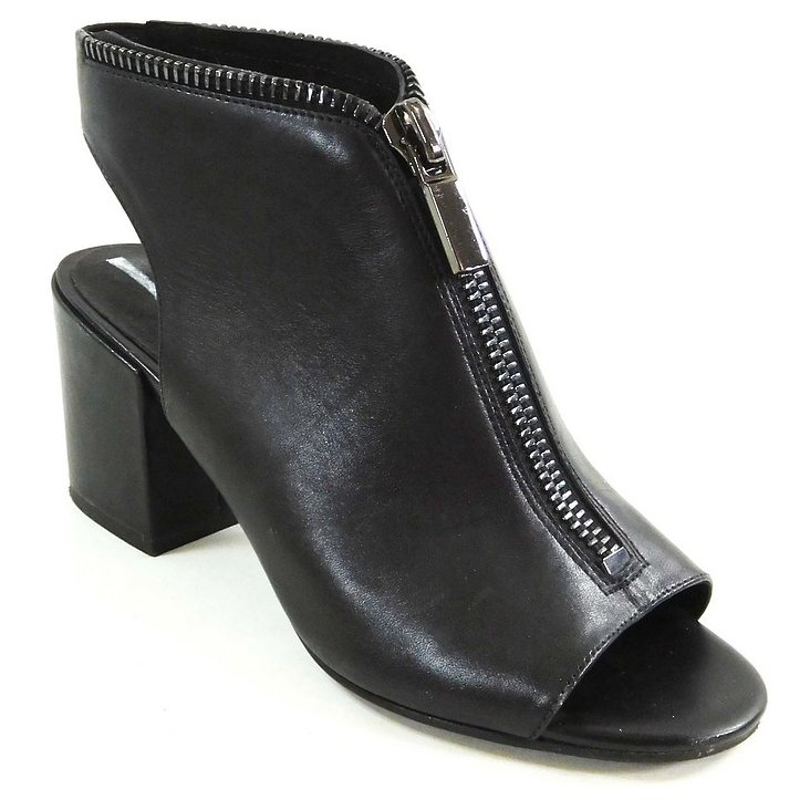 Kenneth Cole New York Verve Mules Mujeres Punta Abierta Piel