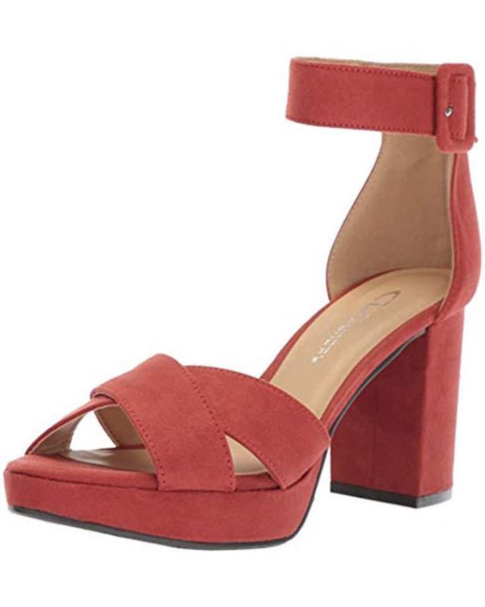 7342302610e CL by Chinese Laundry Womens Gala Open Toe Casual Ankle Strap Sandals