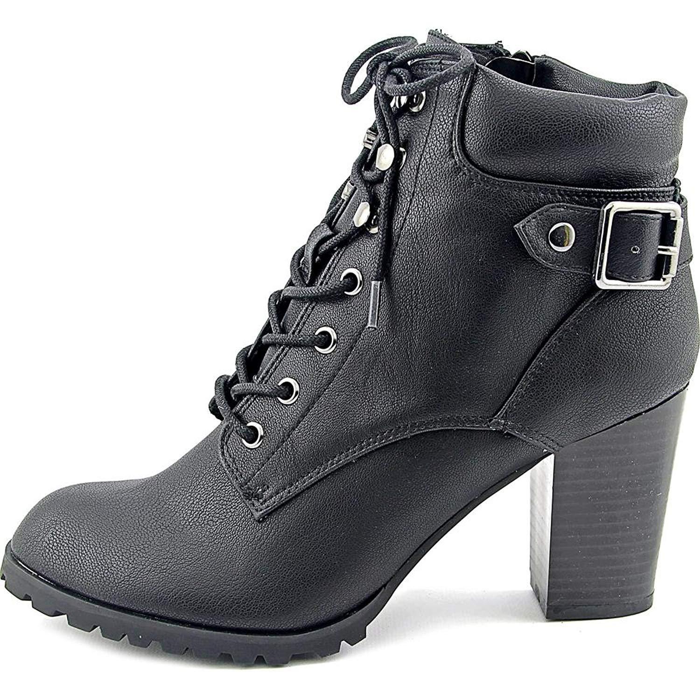 Style & Co. donna Caitlin Caitlin Caitlin Leather Closed Toe Ankle Combat stivali | Garanzia di qualità e quantità  | Uomo/Donna Scarpa  8af3cb