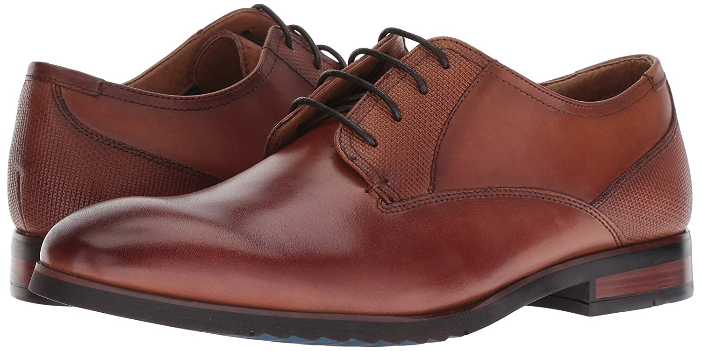 b0d6b16e910 Details about Steve Madden Lawton Mens Oxfords, Dress Shoes Cognac Leather  11 US / 10.5 UK