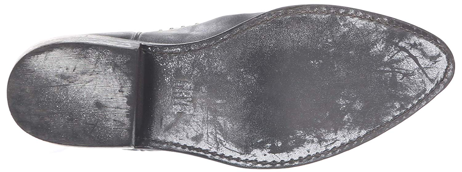 d47563b6cfb Details about FRYE Women's Billy Stud Short Western Boot, Black, Size 7.5  2hqR