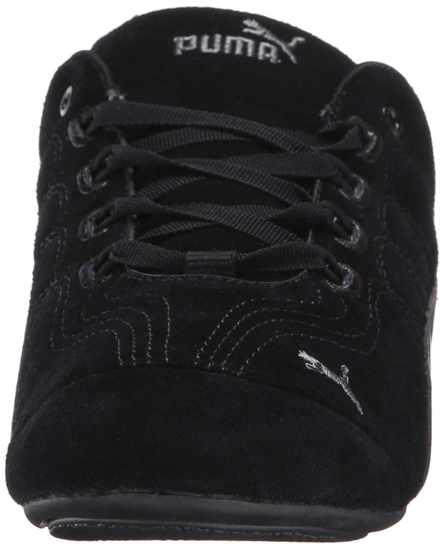 Details about PUMA Women's Soleil V2 Suede Patent Sneaker