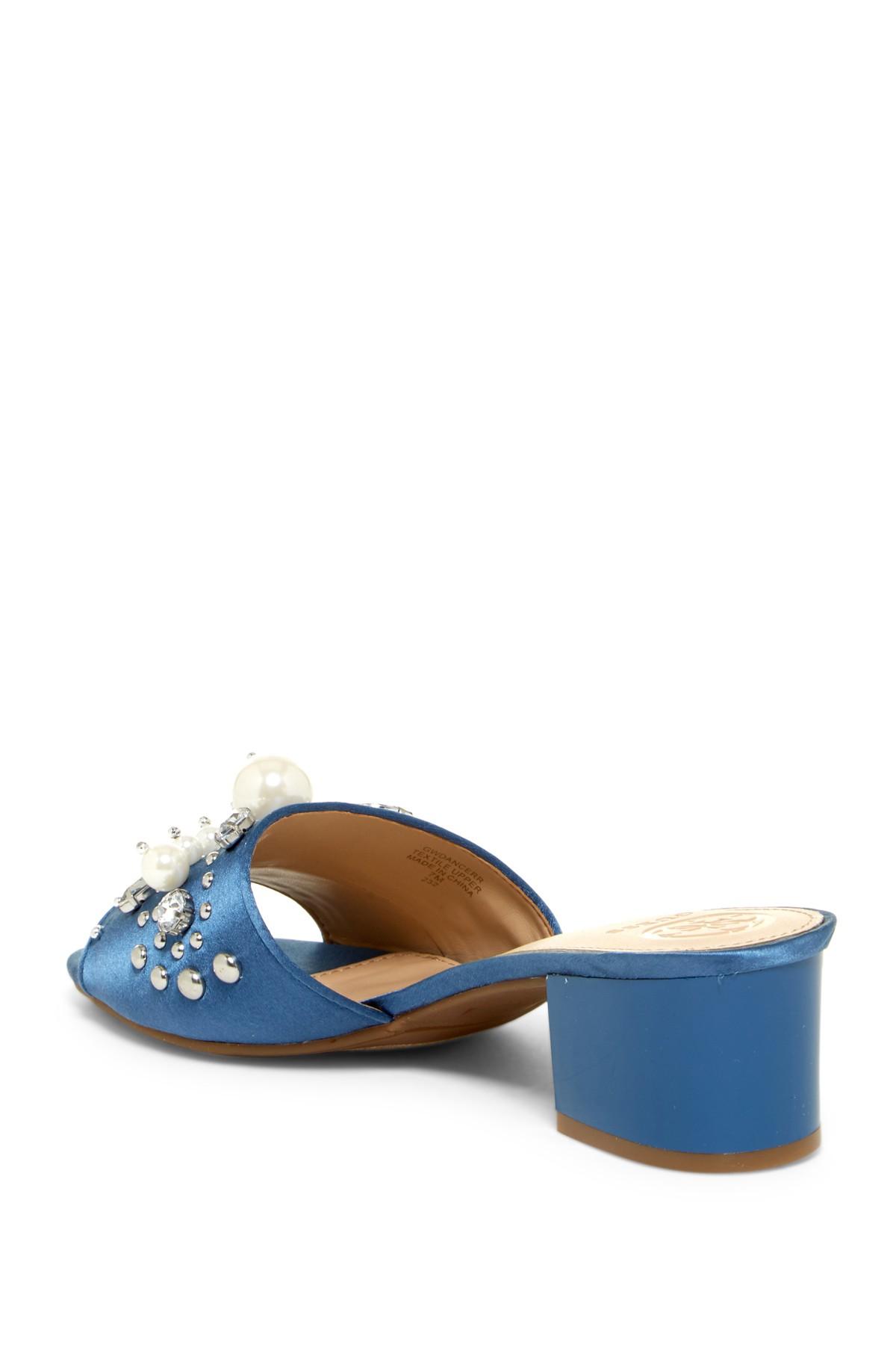 GUESS mujer Dancerr Dancerr Dancerr Fabric Open Toe Casual Slide Sandals  Más asequible