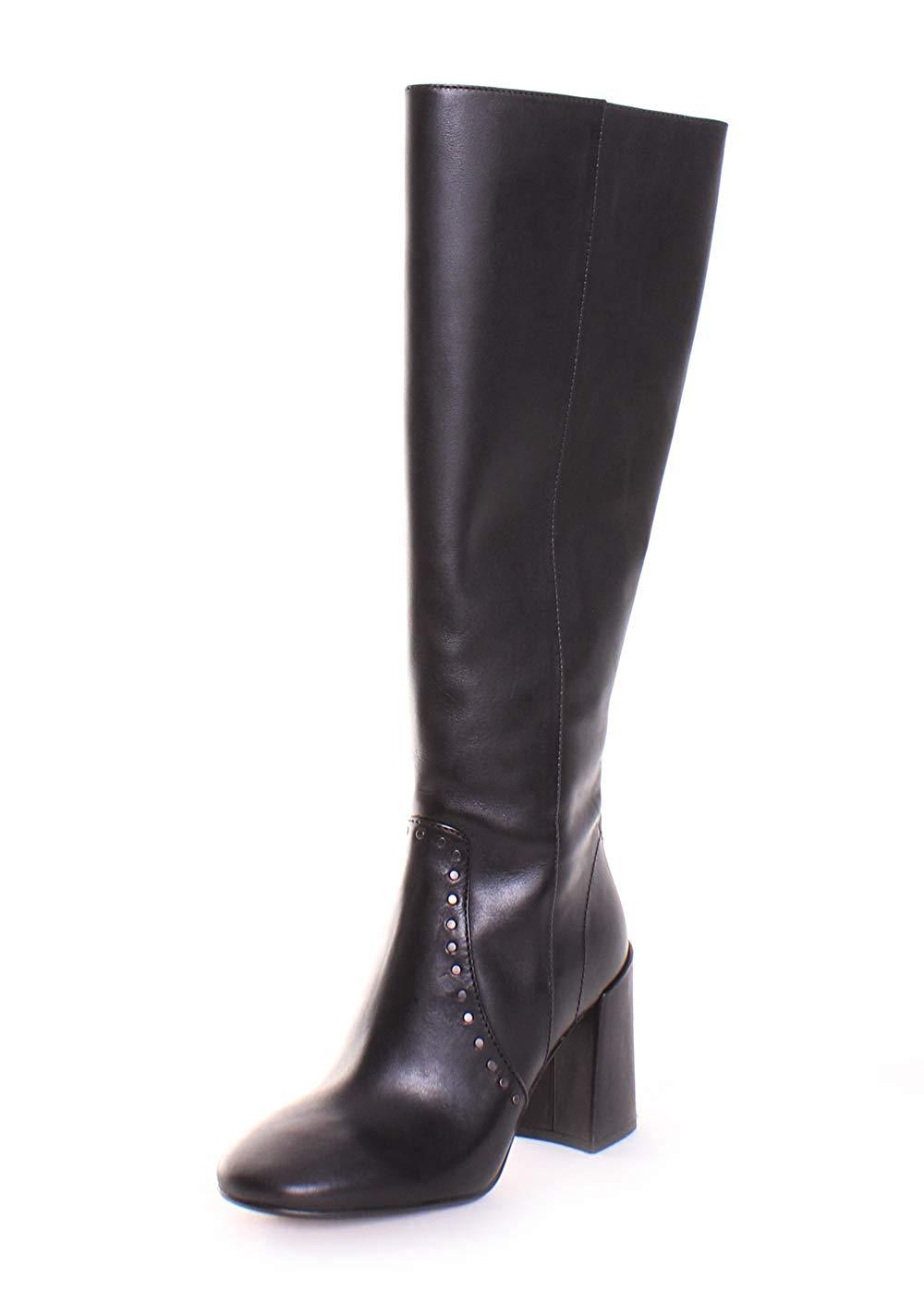 0b6bae12c8fe0 Coach Womens Falon Leather Round Toe Knee High Fashion