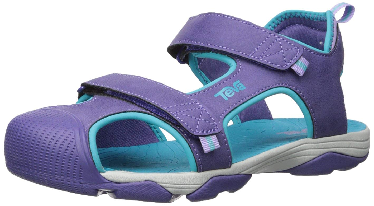84909cb8d2f075 Kids Teva Girls Toachi 4 Low Top Sport Sandals