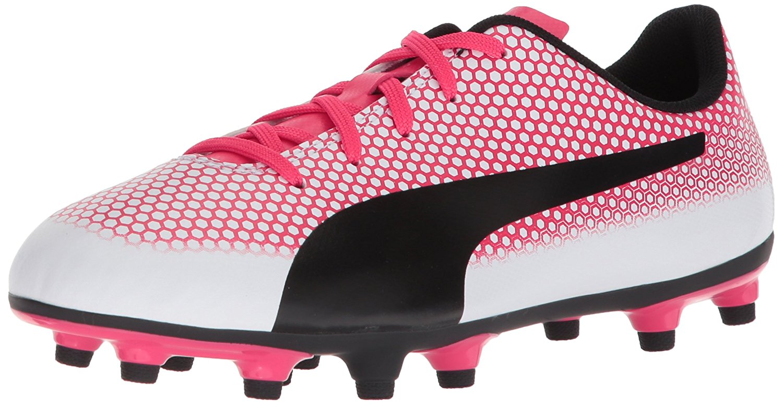 2dcdfa260 Puma Spirit FG Girls Athletic Shoes Puma White-puma Black-paradise ...
