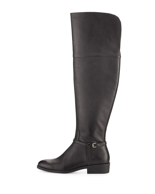 995fb27640c Cole Haan Womens Valentia OTK Boot Leather Almond Toe Over Knee ...