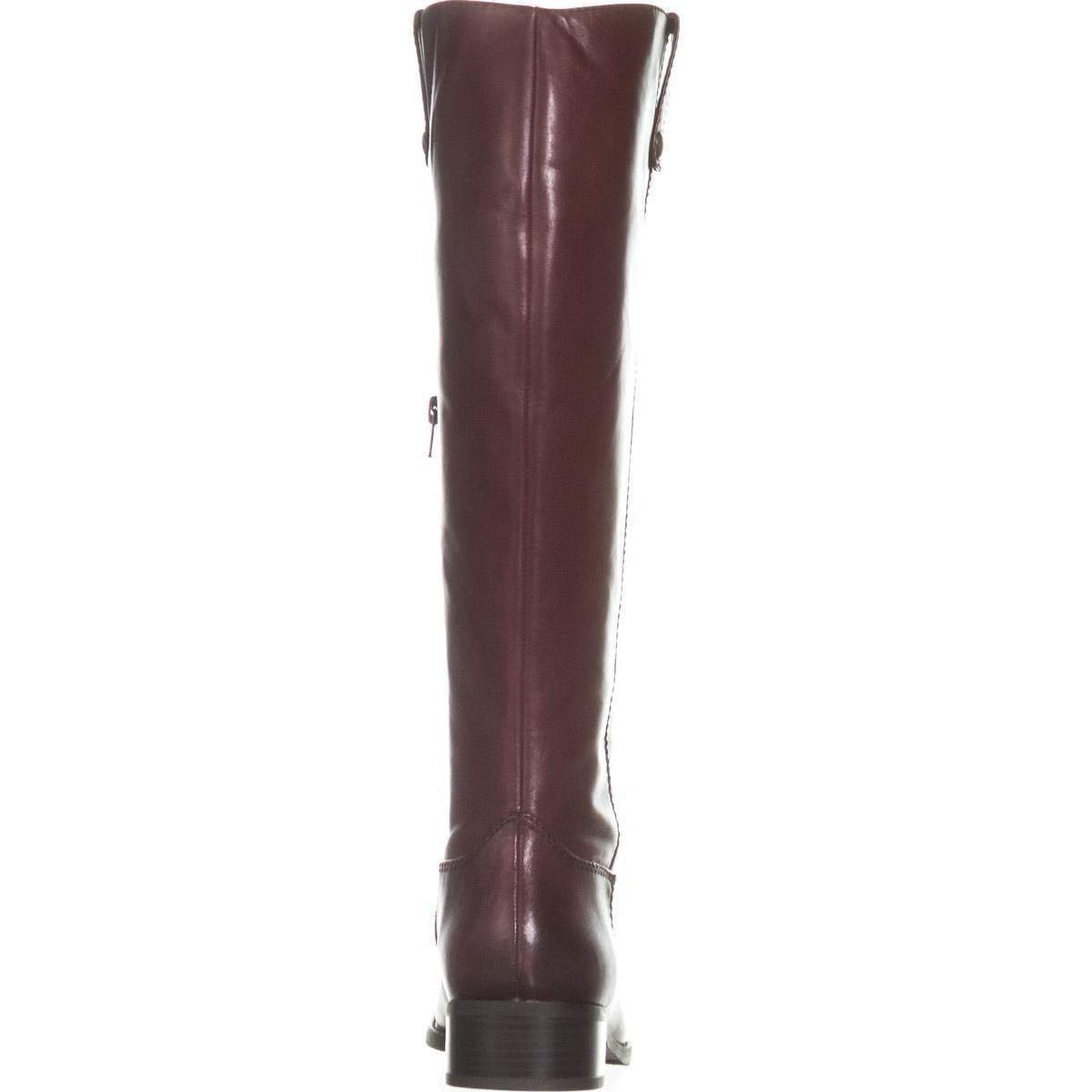 International Womens Toe Concepts Knee High Boots Closed Inc Fawne Red Fashion Exqdw7XEU