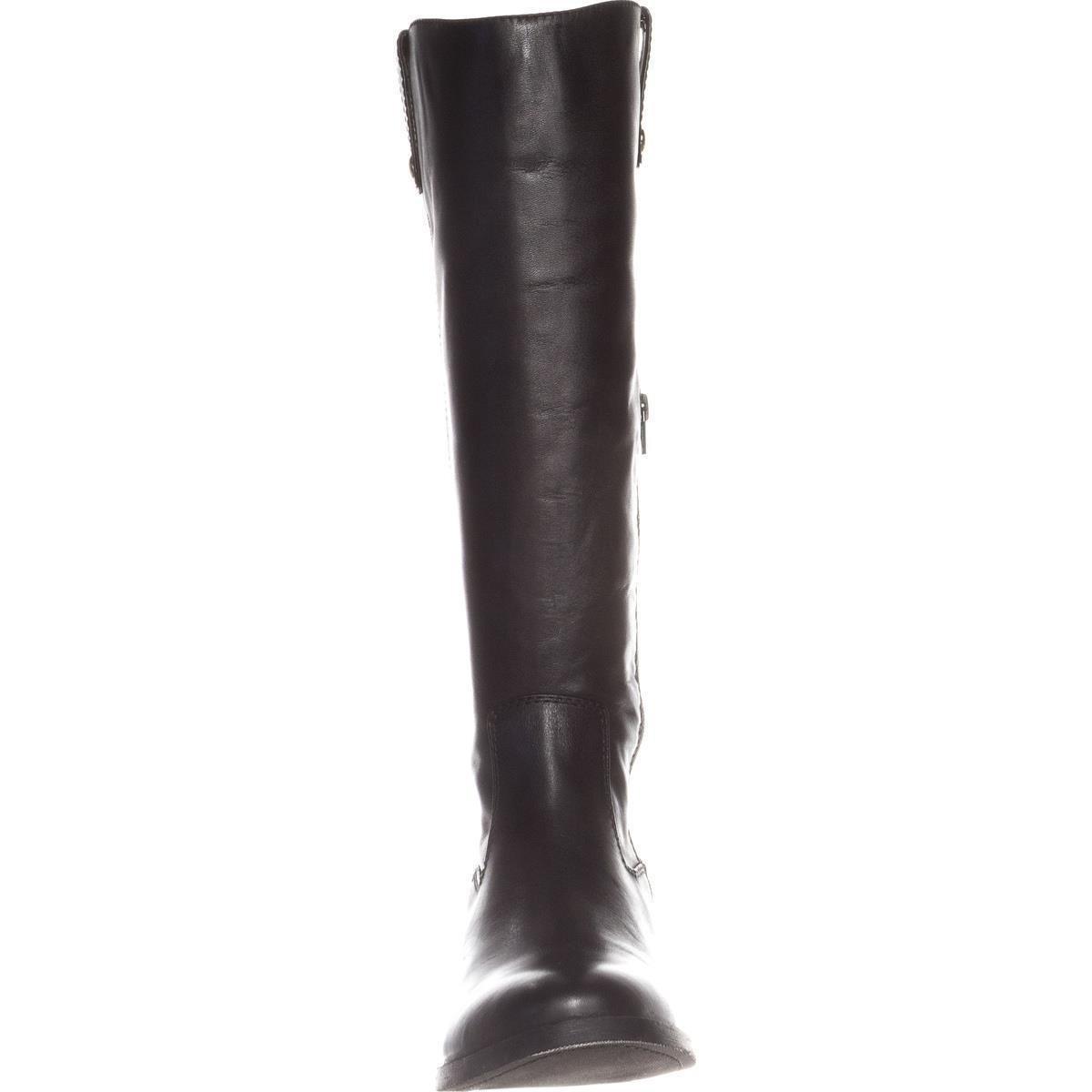 INC International Concepts mujer Fawne Leather Round Toe Toe Toe Knee High Riding Bo... 80cf5a