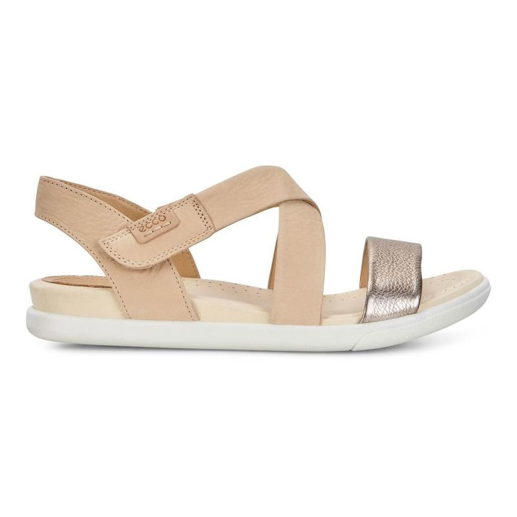 7e7a12253ba3b Details about ECCO Womens Damara Leather Open Toe Casual Ankle, Warm Grey/Powder,  Size 9.0 hdo