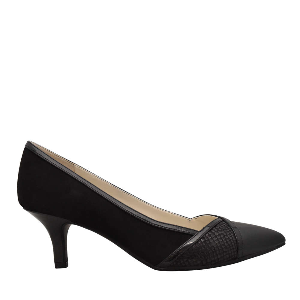Anne Klein Womens flicka Pointed Toe Classic Pumps Black Size 8.0