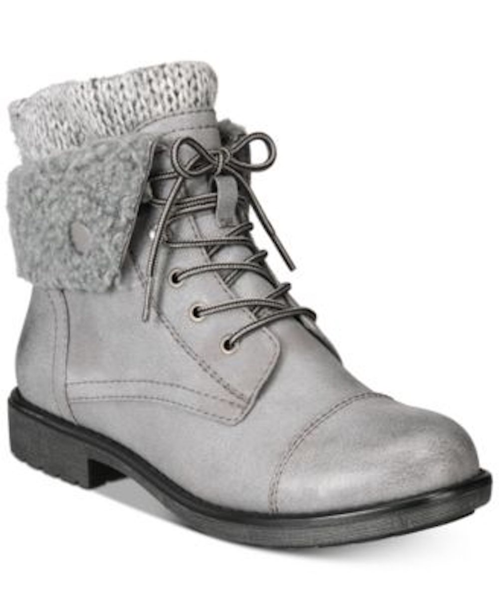 32c21a64aa3 Details about Cliffs by White Mountain Womens Decker Fabric Round Toe Ankle  Fashion Boots