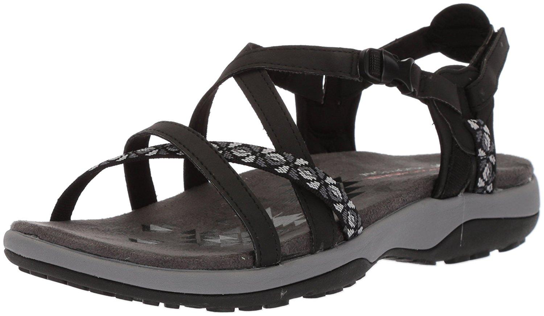 cfef6ea30f8f Skechers Womens Reggae Fabric Open Toe Casual Sport Sandals
