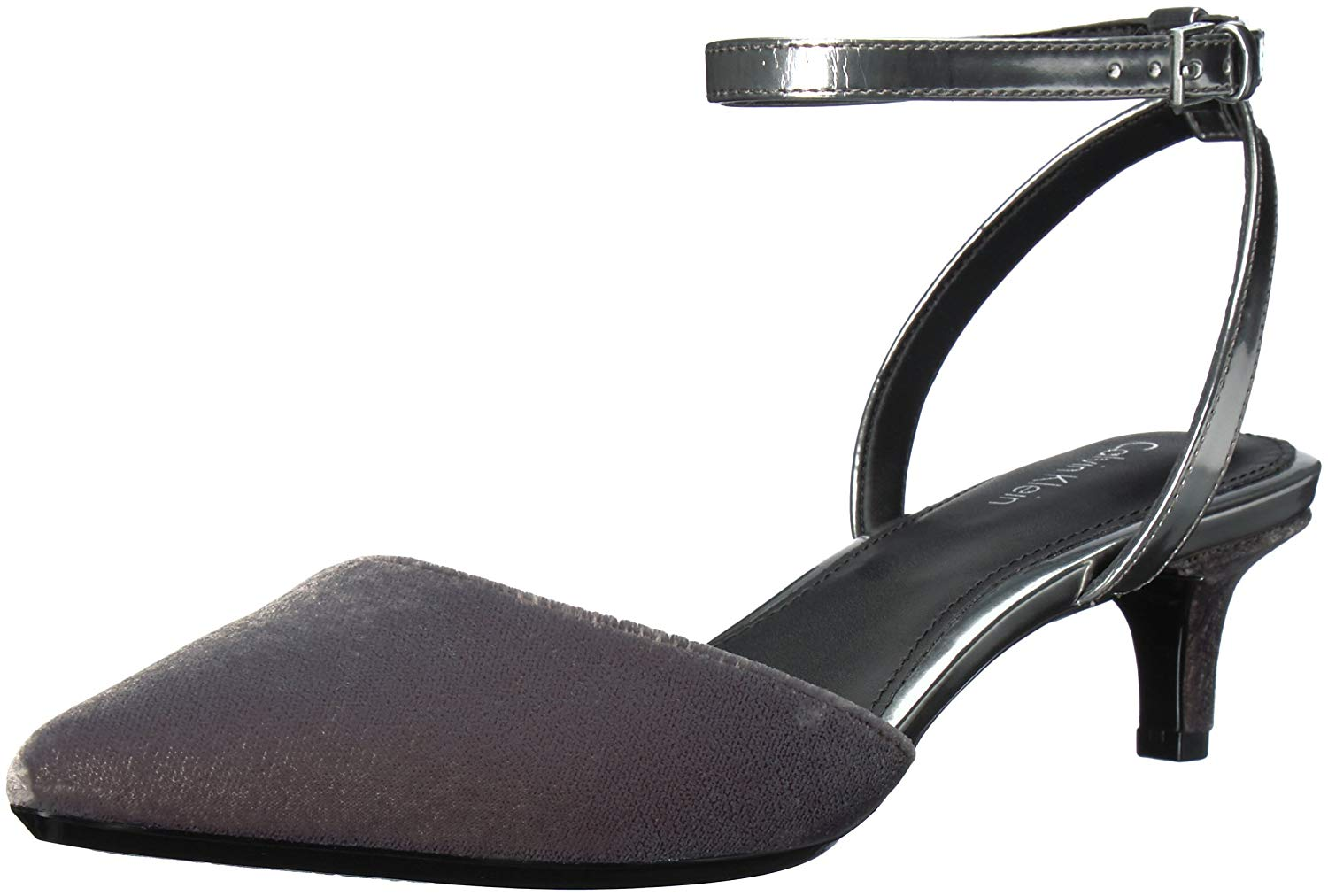 the latest d5201 11a3f Details about Calvin Klein Womens Gogo Pointed Toe SlingBack D-orsay Pumps