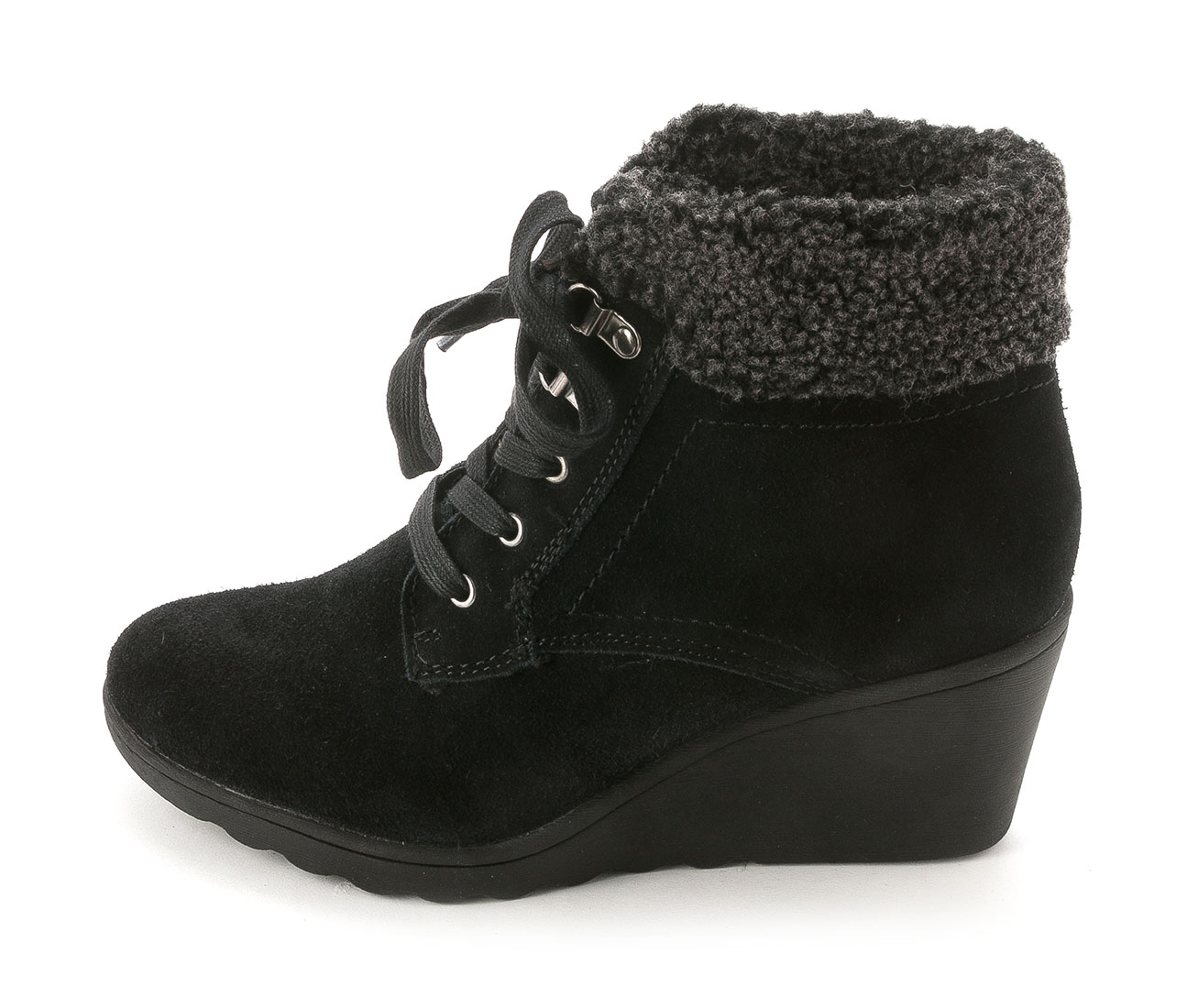 Womens Kipper Suede Closed Toe Ankle Fashion Boots