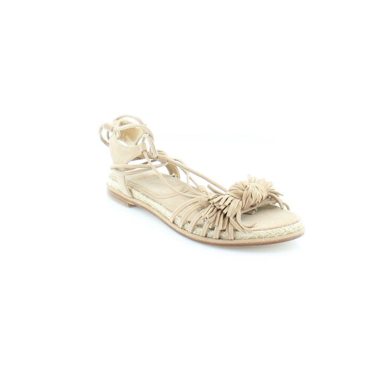 b94f0b0ca Details about Stuart Weitzman Flowerpot Womens Flat Sandals Cashew Suede 9  US   7 UK