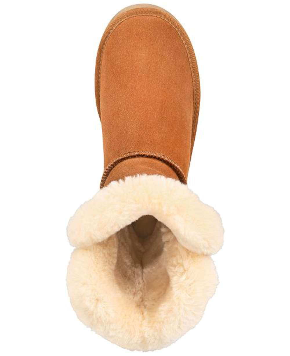 11e109f7f Details about Style & Co. Womens TINY2 Suede Round Toe Ankle Cold Weather  Boots