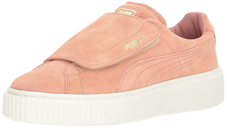 Details about PUMA Women's Suede Platform Strap Wn Sneaker