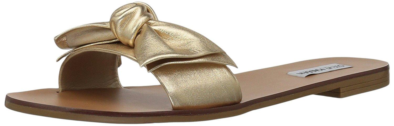 Steve Madden Damenschuhe Knotss Leder Open Toe Slide Casual Slide Toe Sandales     7c83d7