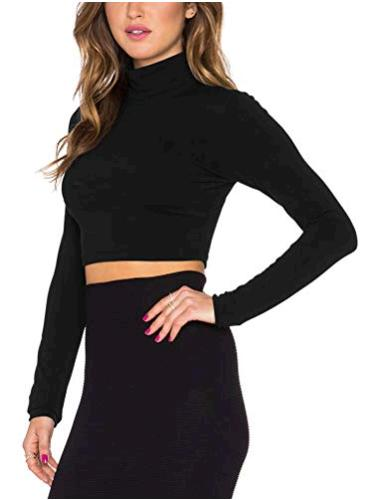 High Quality 2018 Autumn/fall V neck Solid Black Sexy Long