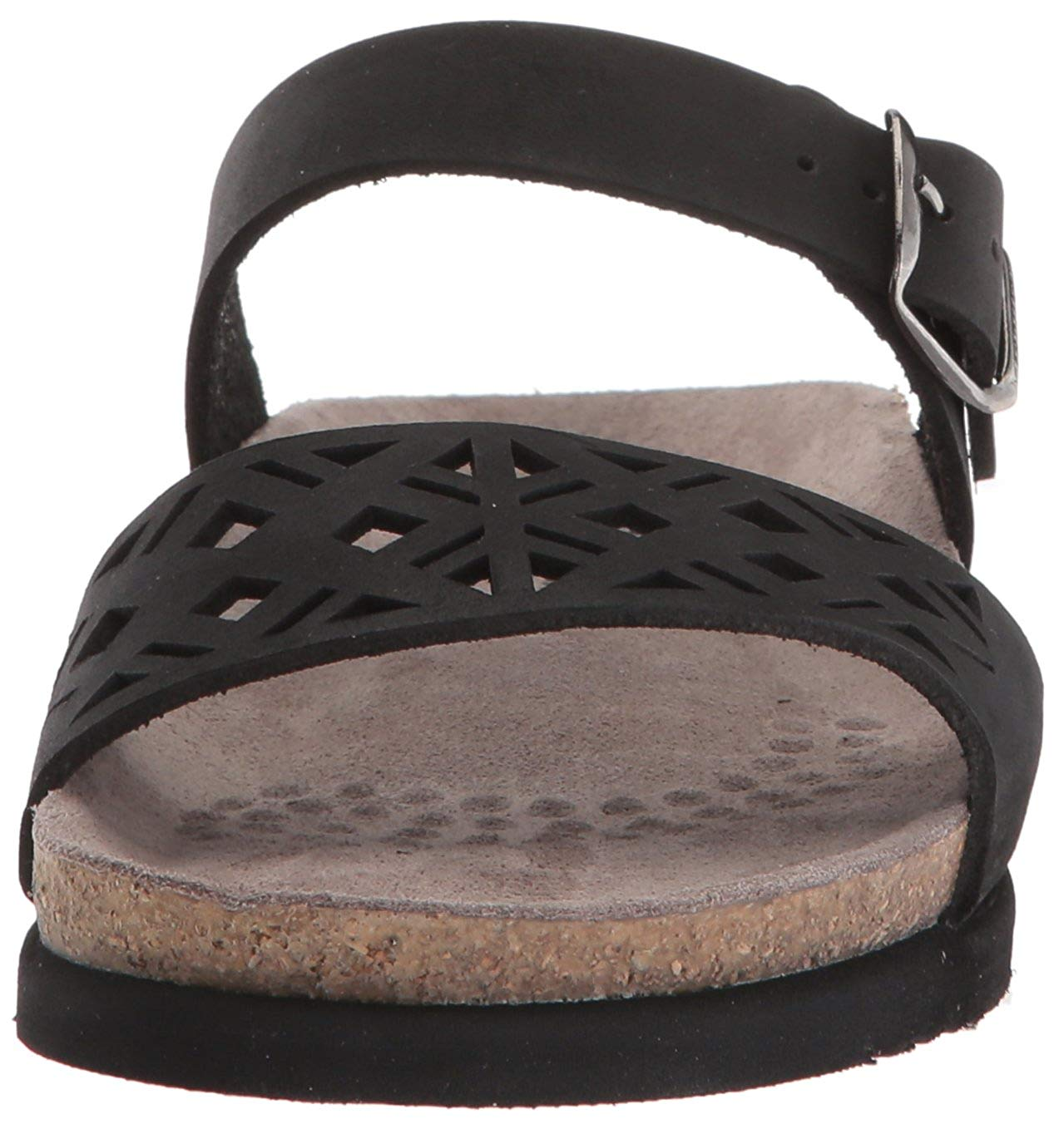4bcfb070f7 Mephisto Womens Hirena Leather Open Toe Casual Slide Sandals | eBay