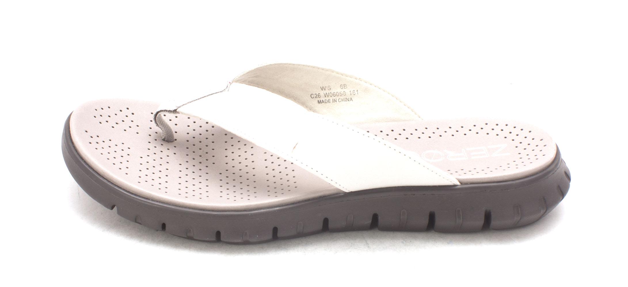 Cole Haan Womens Zenasam Open Toe Casual Grey Size 60