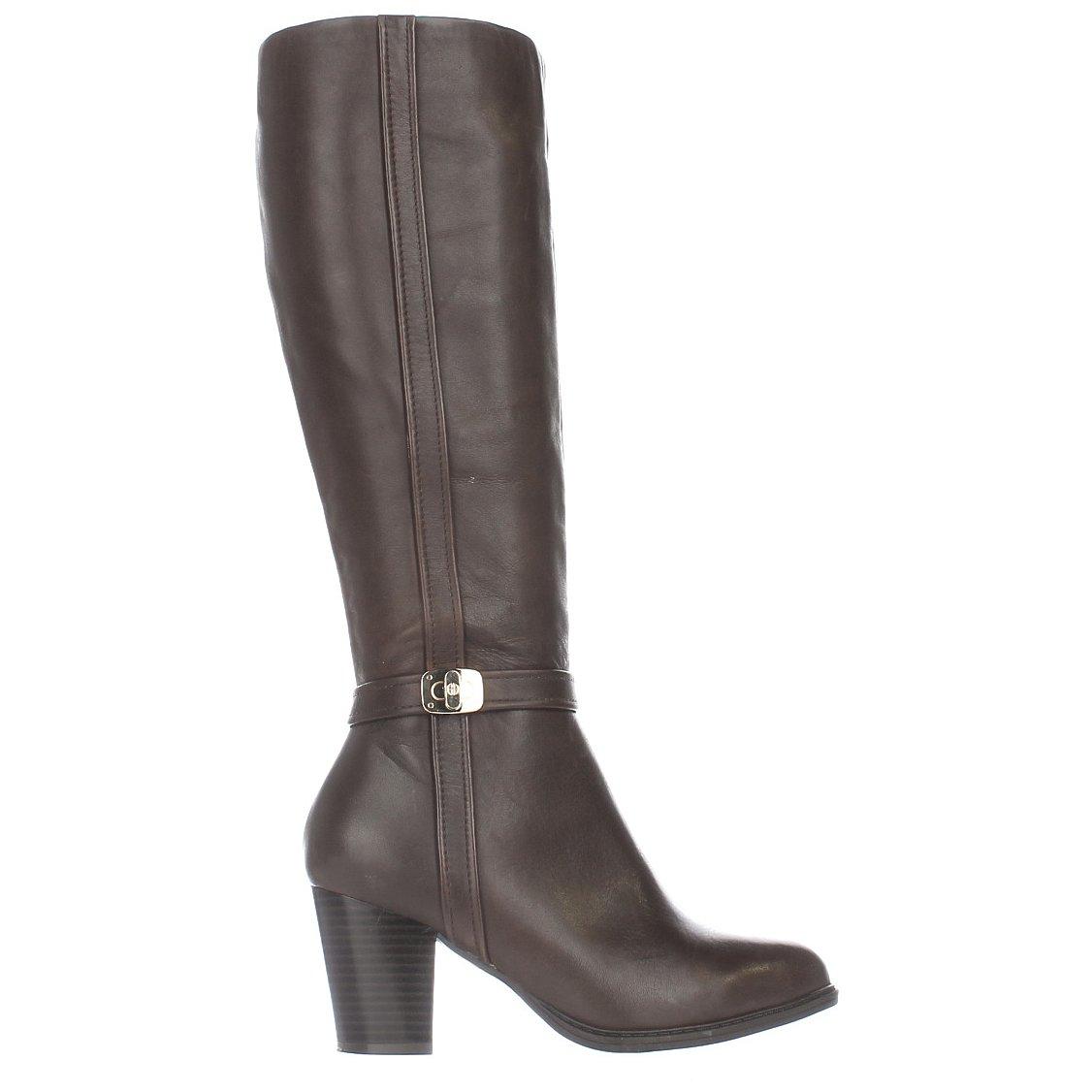 Giani Bernini Frauen Frauen Frauen Raiven Geschlossener Zeh Leder Fashion Stiefel 399155