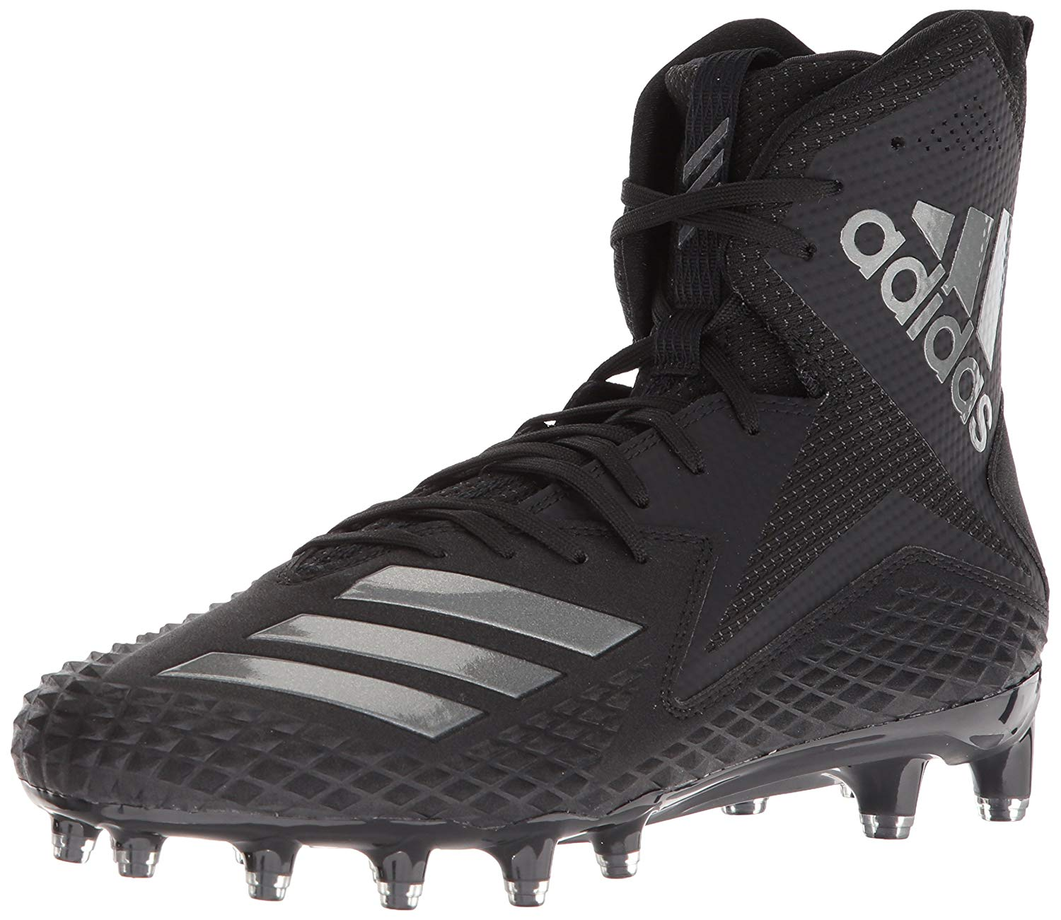 outlet store 287fe a5eaa Adidas Mens FREAK X CARBON HIGH Hight Top Lace Up Soccer Sneaker
