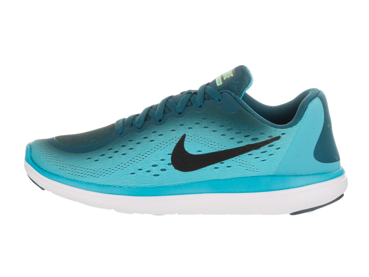 28f496793cc14 Nike Womens Flex 2017 rn Low Top Lace Up Running Sneaker