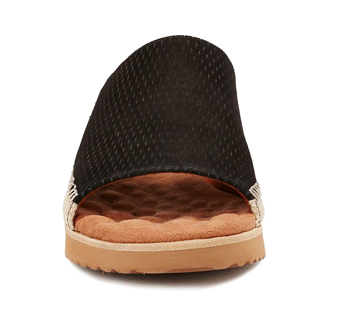 Walking Cradles donna Henna Open Toe Casual Casual Casual Slide, nero stampe, Dimensione 9.0 903aec