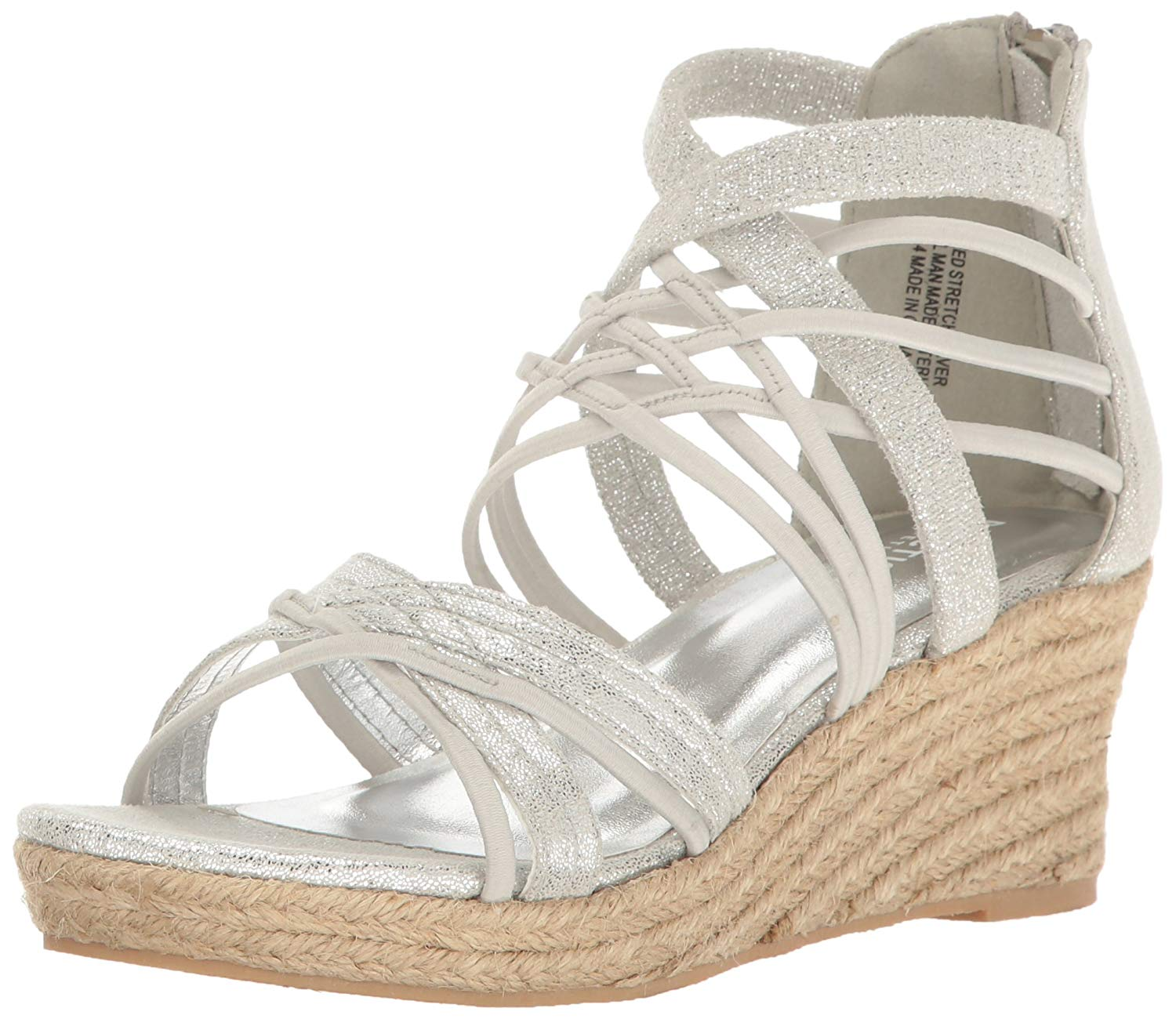 Kenneth Cole Reaction Reed Stretch Girls Sandales 0 Silver 0 Sandales  US /  M b02c51