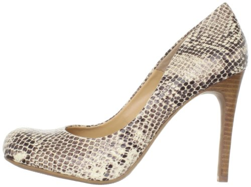Jessica Simpson Womens Calie Leather Closed Toe Classic Natural Snake Size 6.0
