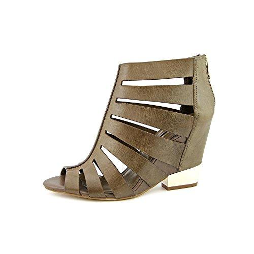 BCBGeneration Womens CHARLIE Peep Toe Casual Espadrille Sandals Black Size 65