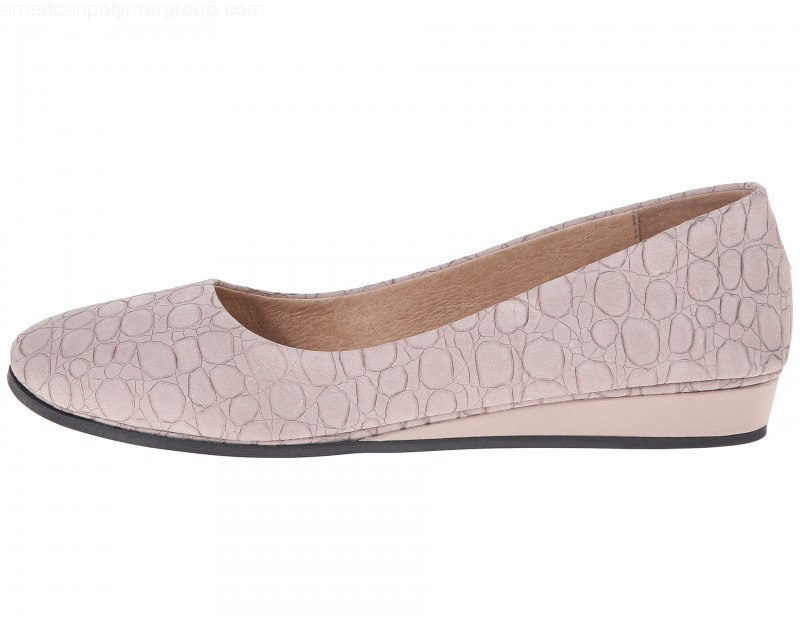 French Sole Damenschuhe ZEPPA Closed Closed Closed Toe Casual Platform, taupe croco ... 9b2989