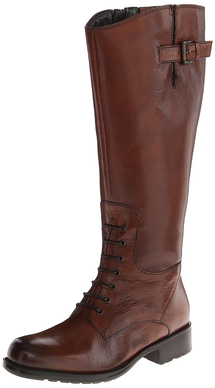 Clarks Women's Mullin Clove Riding Boot, Cognac Leather, Size 6.0 e9FA