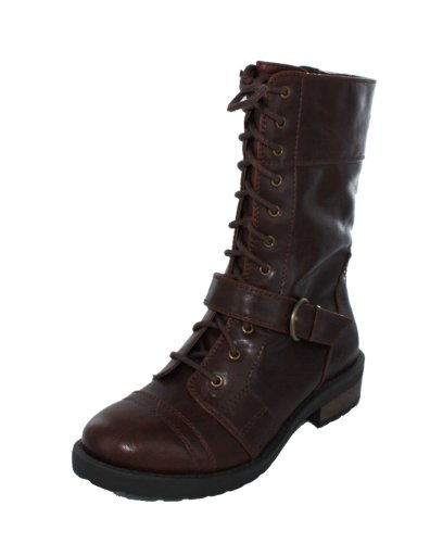 Womens flyman Round Toe Ankle Fashion Boots