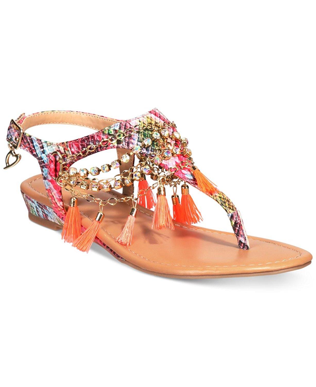 Thalia Sodi Damenschuhe Zella Split Toe Casual Slingback Sandales    Sandales   6fdd6f
