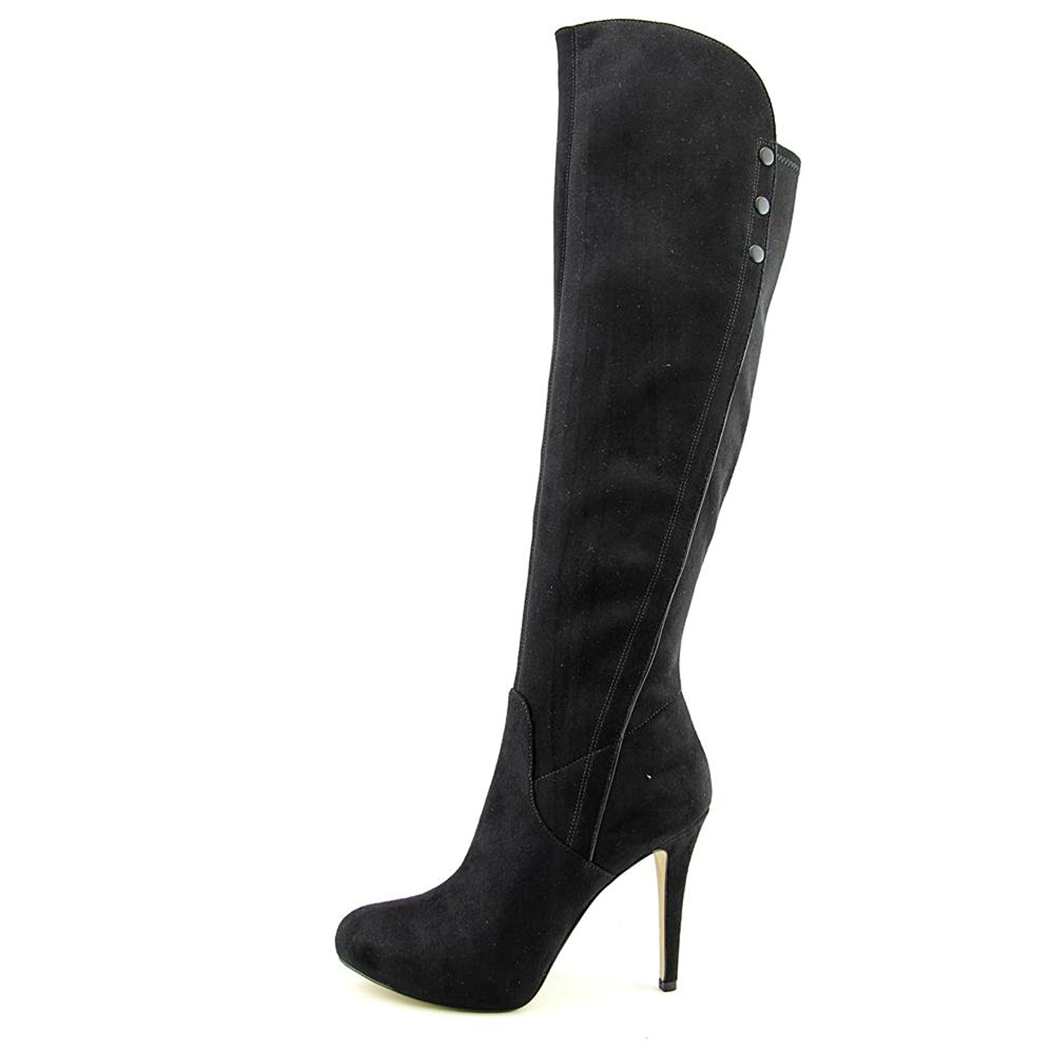 GUESS Womens Enesta 2 Closed Toe Knee High Fashion Boots Black Size 9.5 SEHv