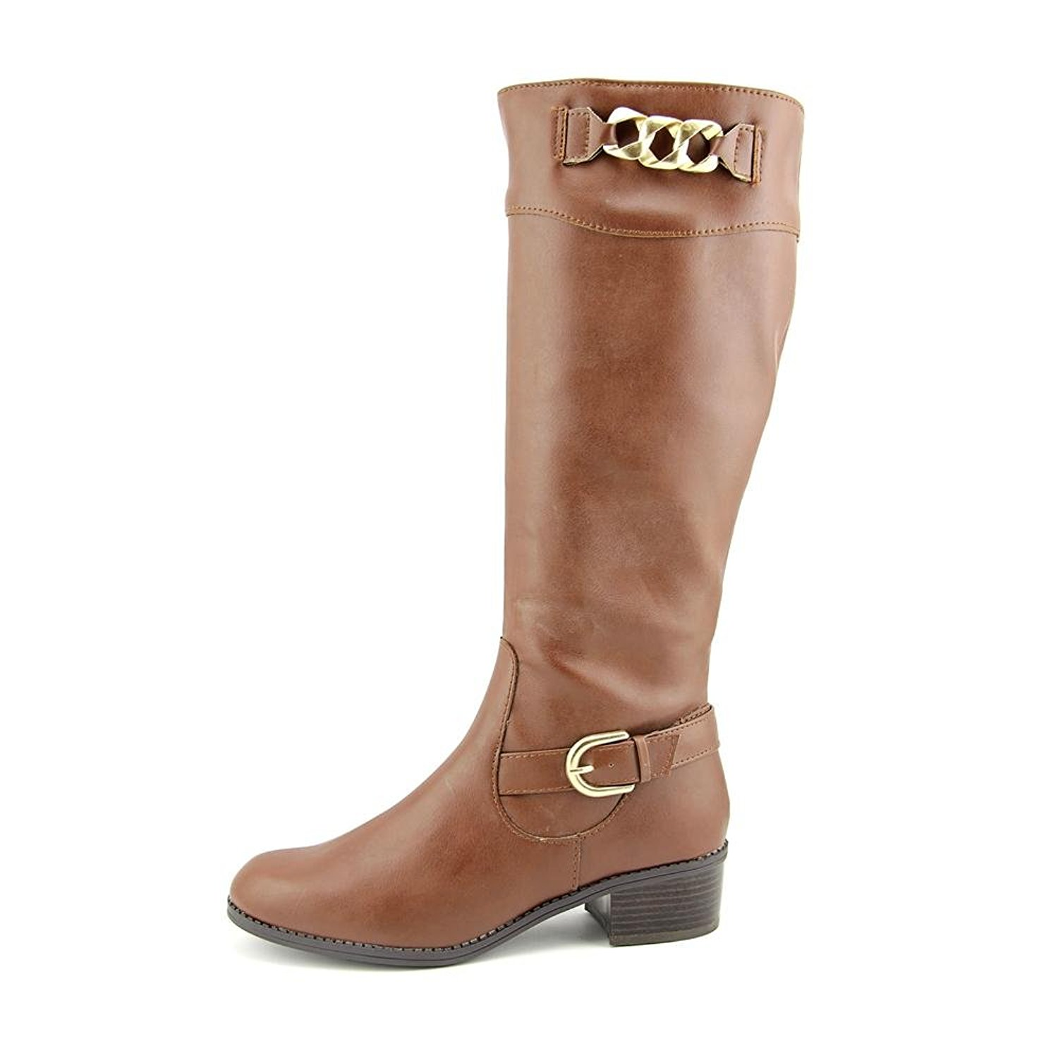 Womens Donnely Closed Toe Mid-Calf Fashion Boots