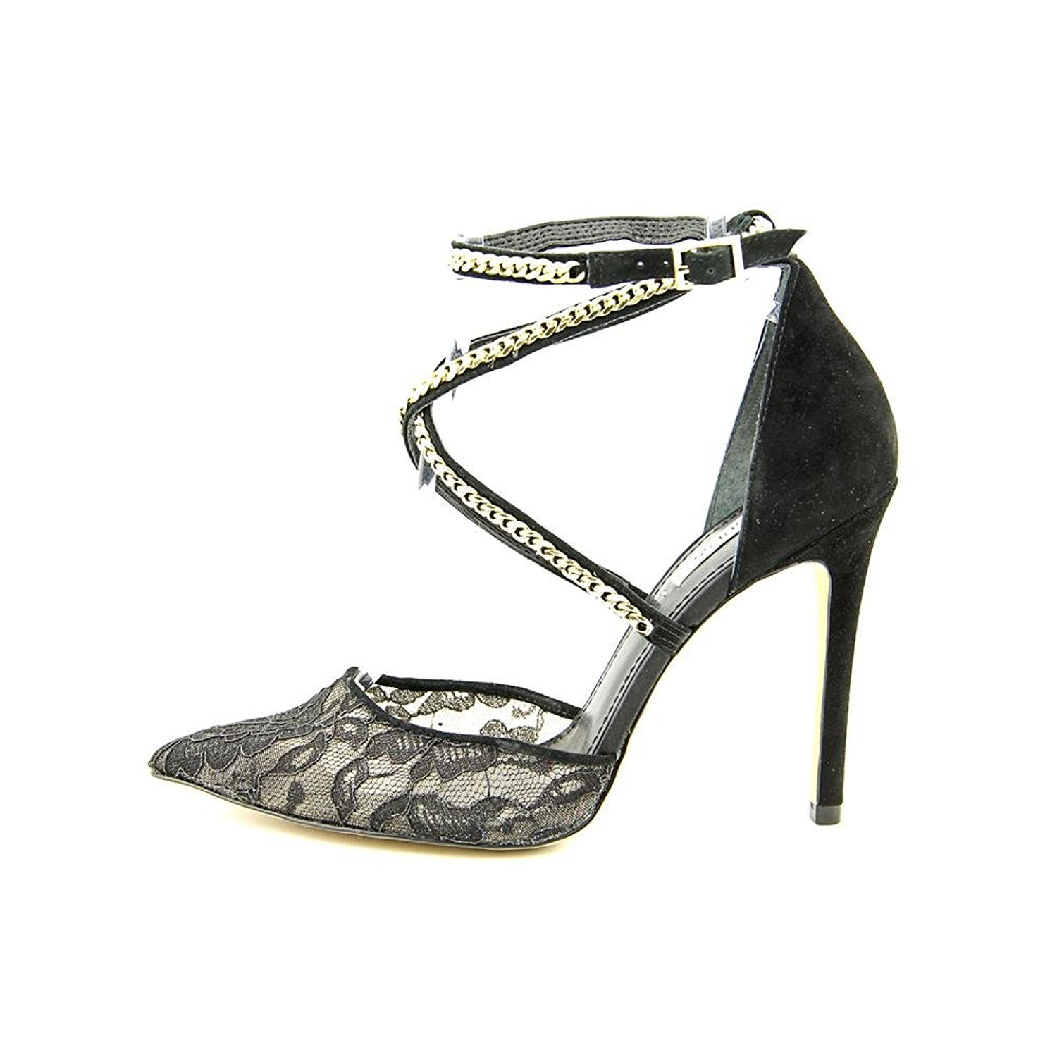 3bcf9277946f7e GUESS-Adabellely-Lace-Pointed-Toe-Pumps-Black-Multi-