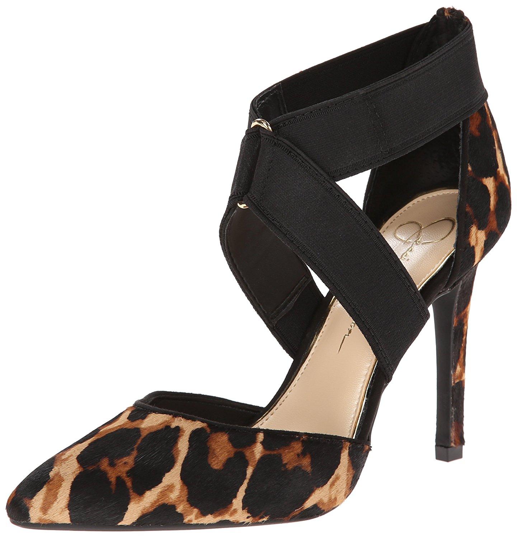 Jessica Simpson Women's Venita2 Dress Pump Natural/Black Size 9.0
