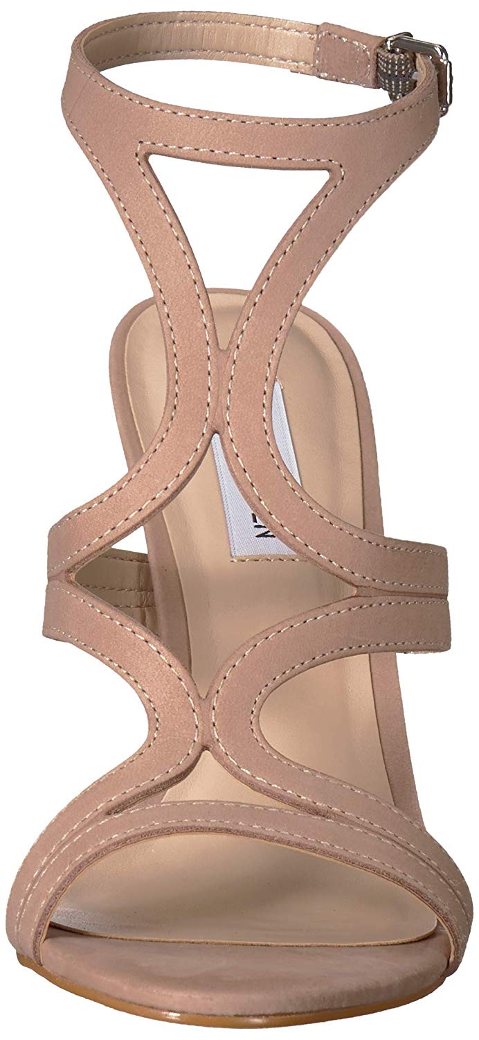 2d6879926fd Steve Madden Womens Sidney Leather Open Toe Casual Strappy Sandals ...