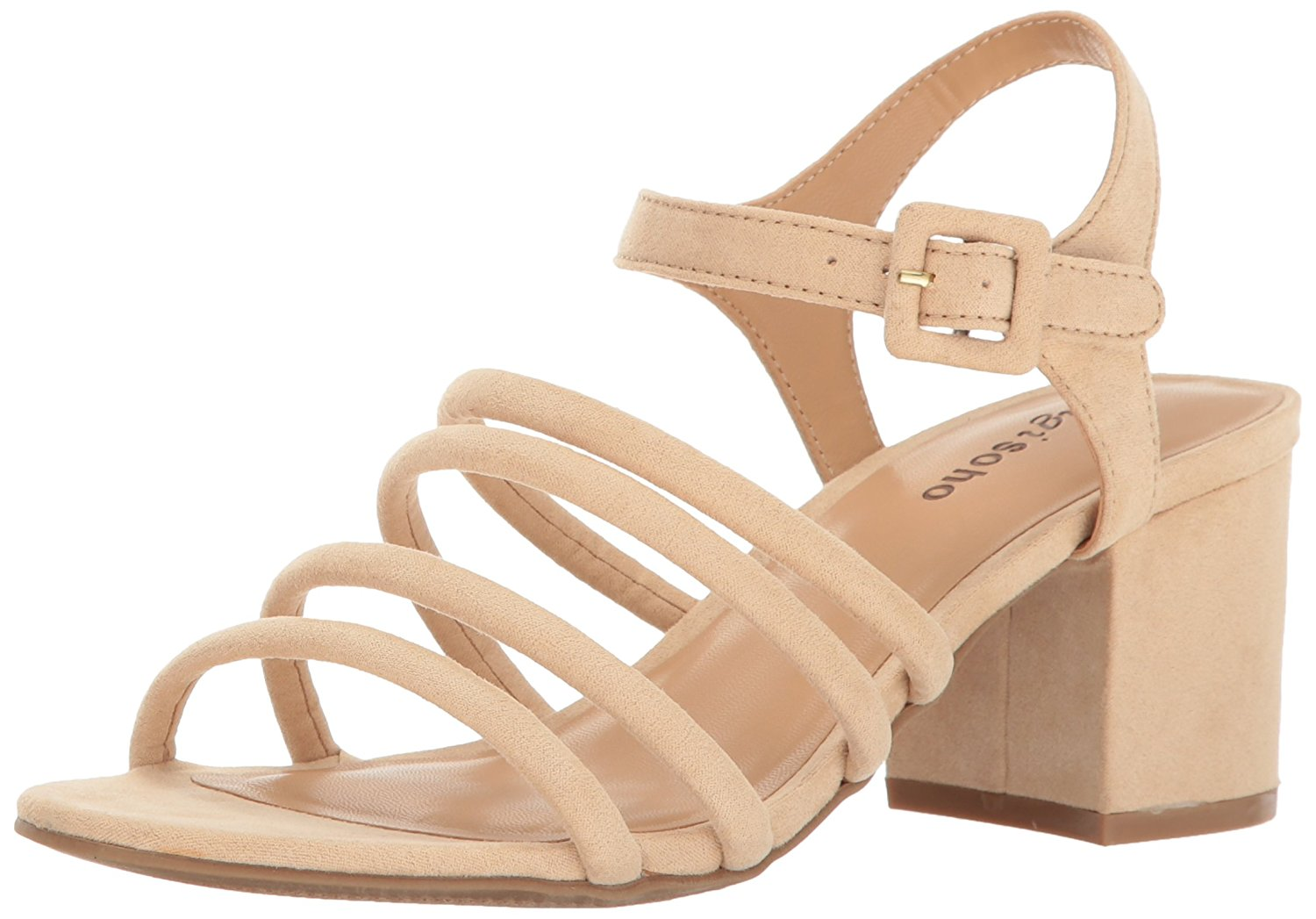 ZIGI SOHO Womens Markah Open Toe Casual Strappy Sandals Corsd Size 65