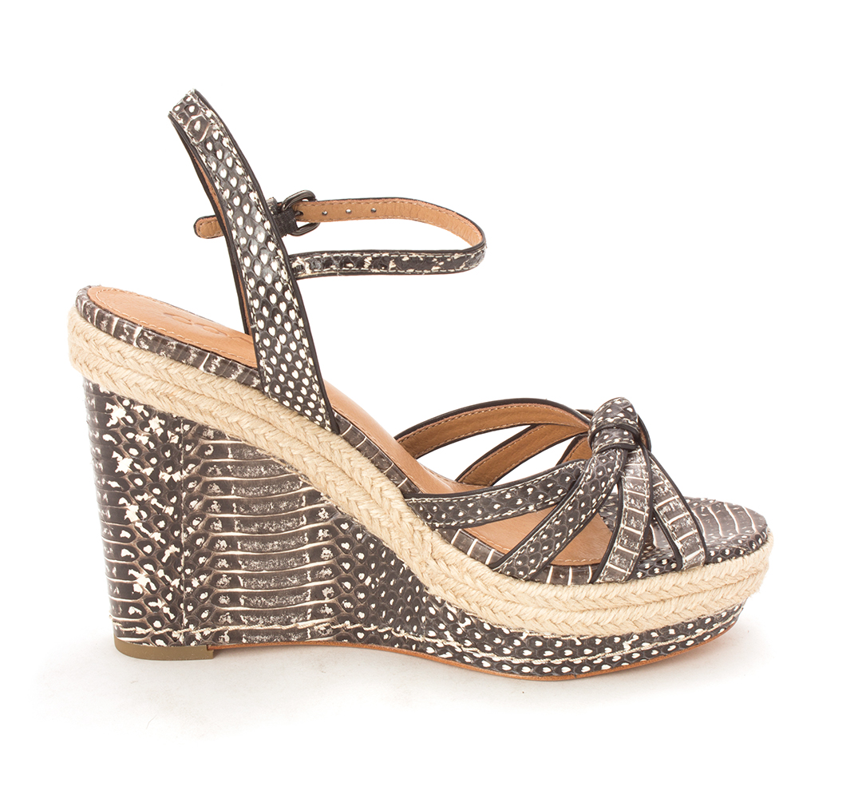 f791024a922 Coach Womens Dalton Leather Open Toe Casual Platform Sandals