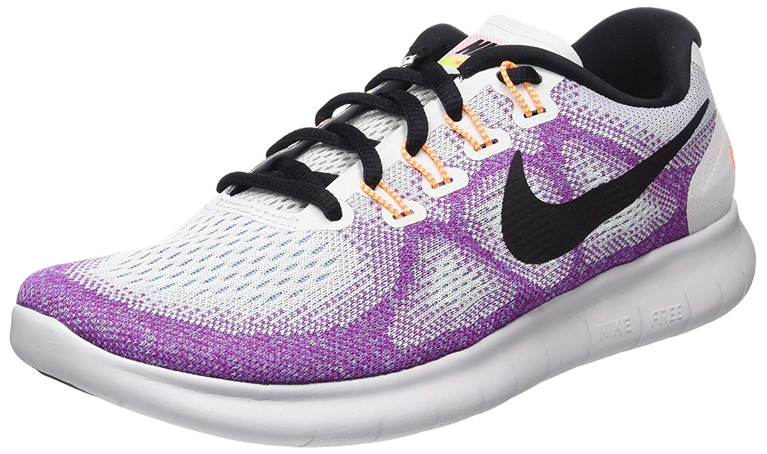d0adb1e92ce0c Details about Nike Womens Free Rn 2017 Low Top Lace Up Running Sneaker