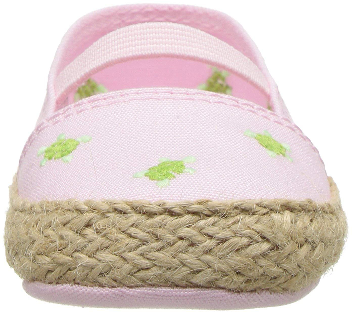 Polo Ralph Lauren Kids Bowman Crib Shoe Pink Canvas