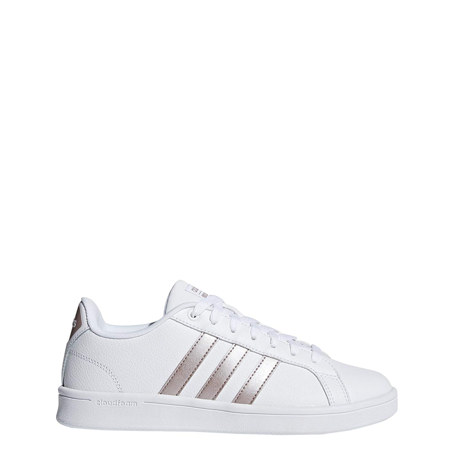 100% hoge kwaliteit te koop nieuwe aankomst Details about Adidas Womens cf advantage w Low Top Lace Up, White/Vapour  Grey/White, Size 6.0